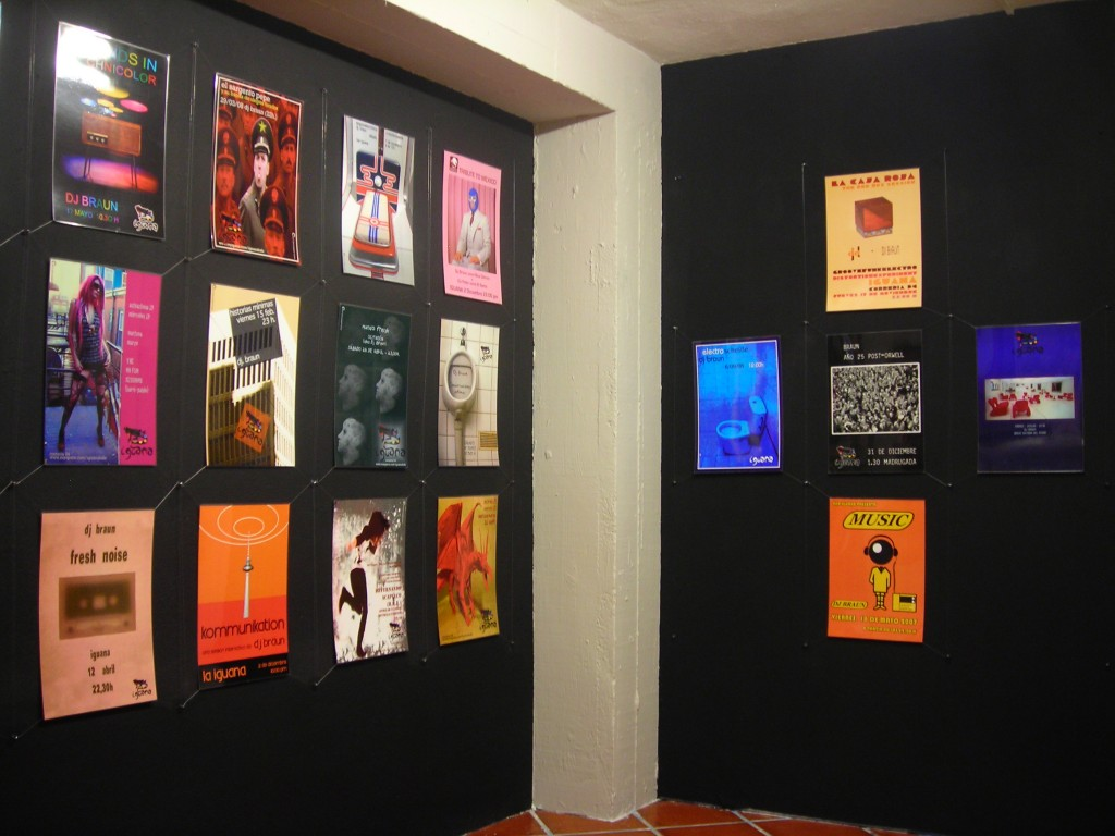exhibition @ zuloa- iguana kafe