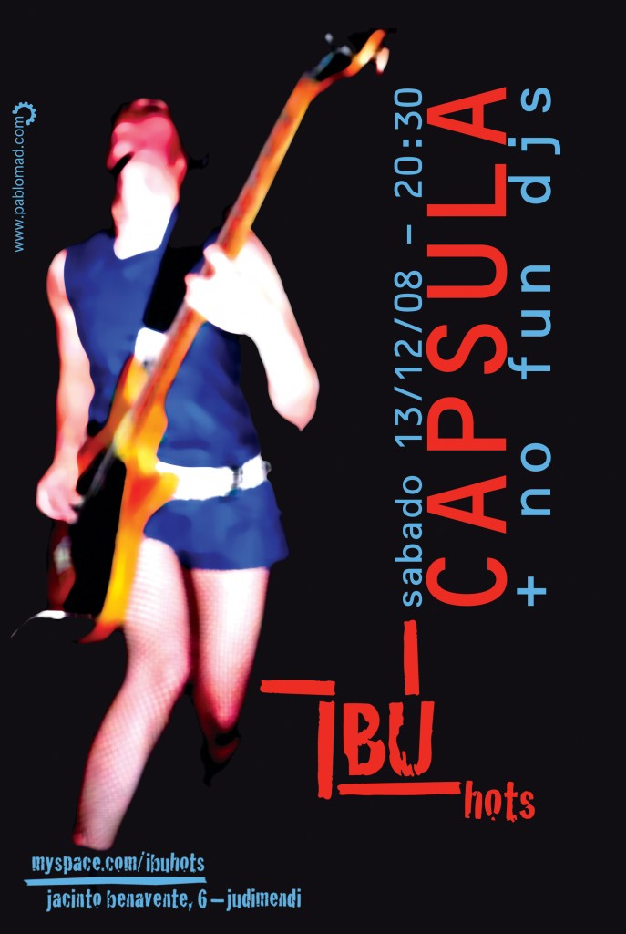 poster capsula @ ibu.hots