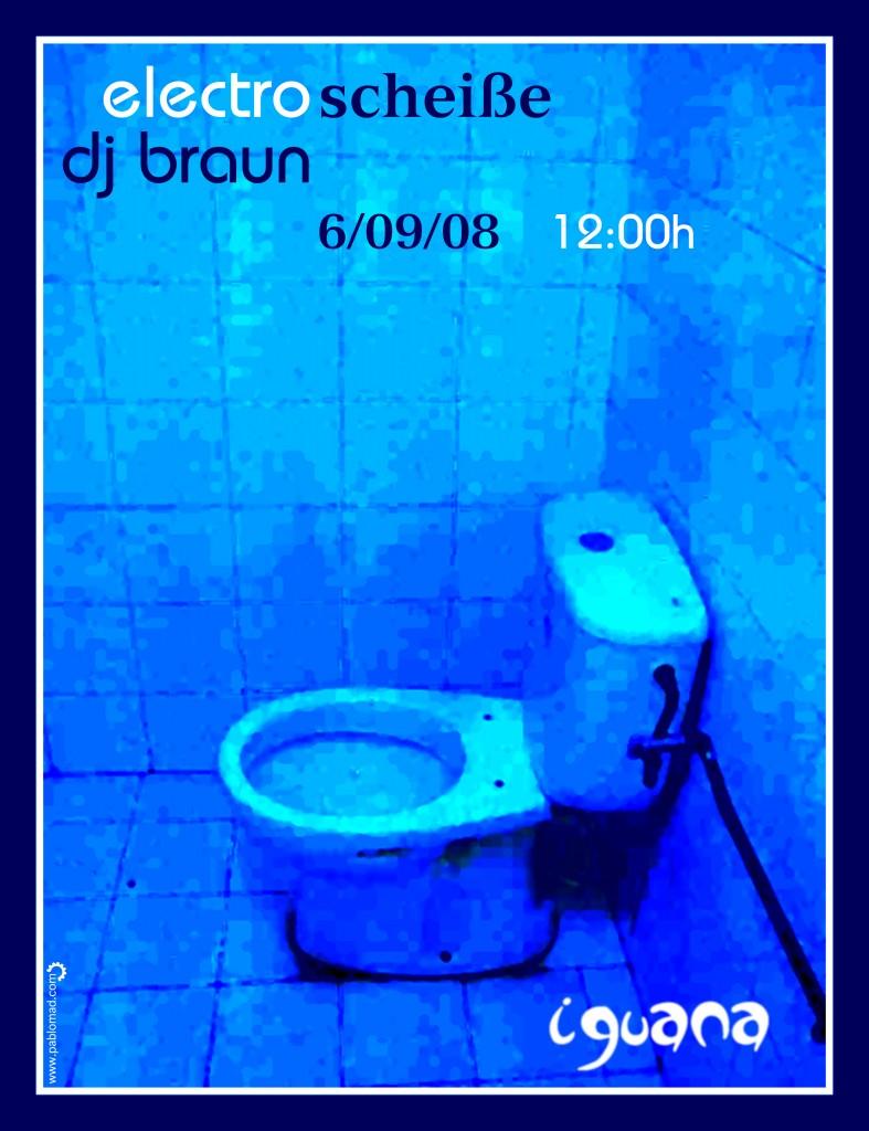 poster dj sessions @ iguana kafe