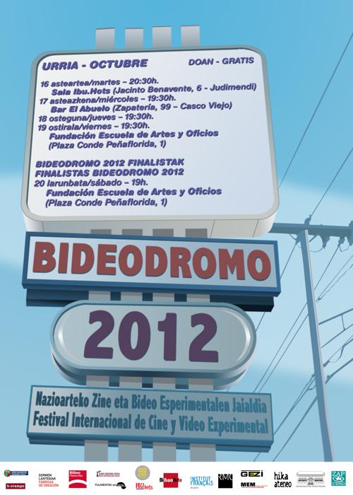 CARTEL BIDEODROMO 2012