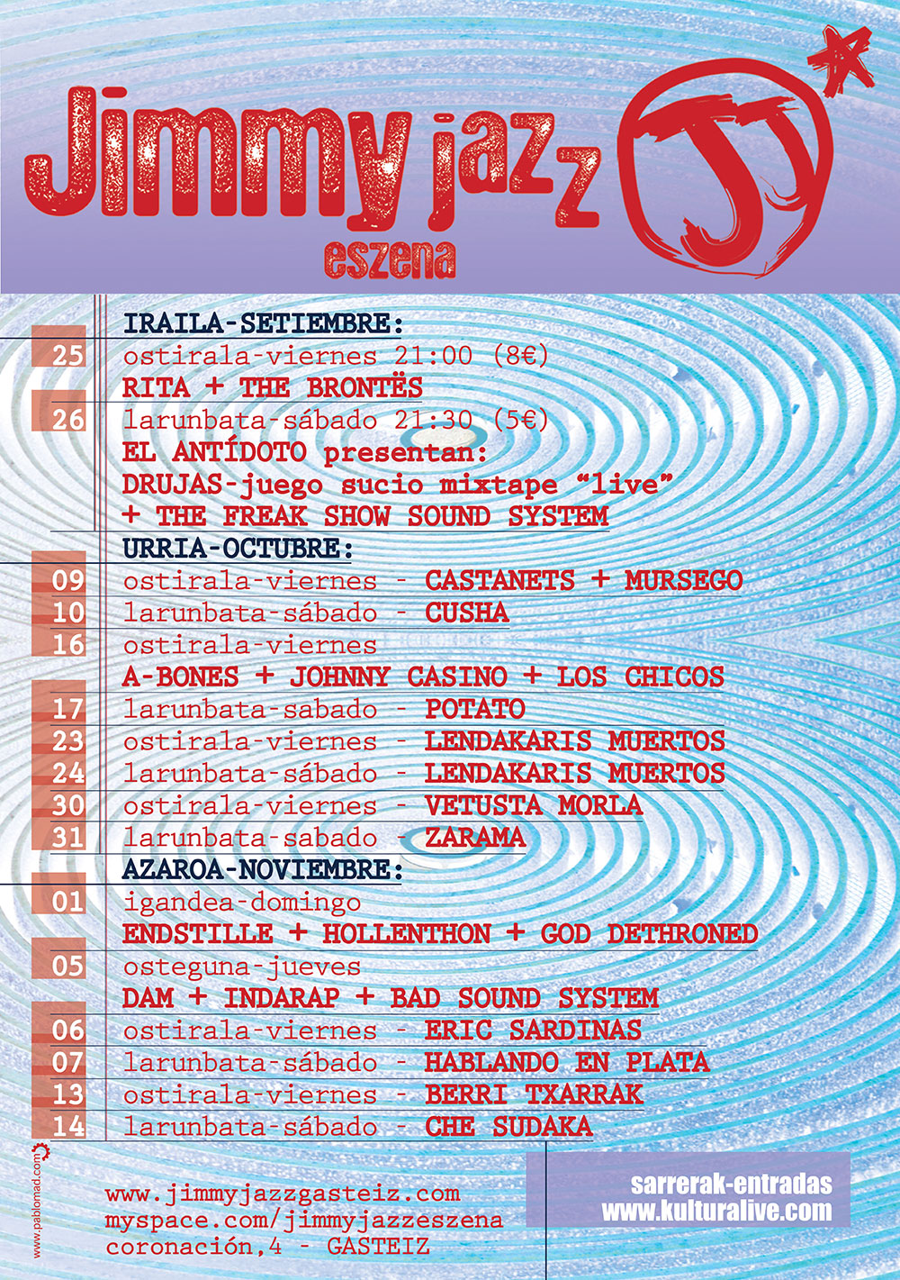 13_cartel_setiembre_09 jimmy jazz pablomad