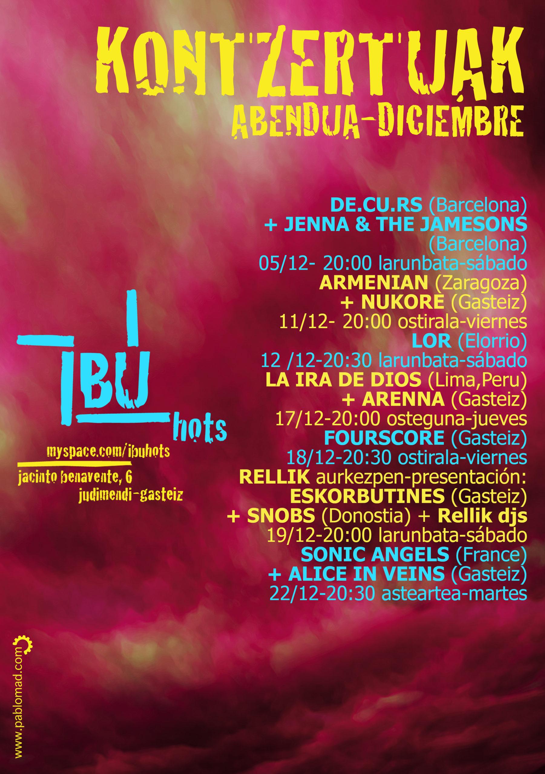 programacion diciembre 09 ibu pablomad