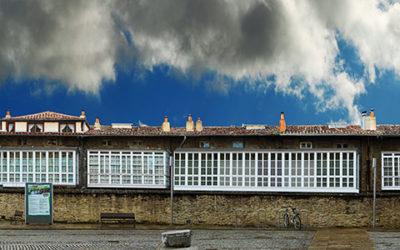 montaje fotográfico plaza del Matxete de Gasteiz
