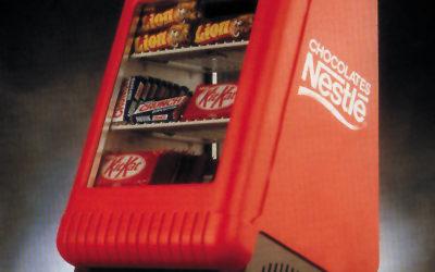 expositor/refrigerador para chocolate
